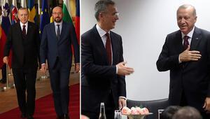 Son dakika haberi: Cumhurbaşkanı Erdoğandan Brükselde peş peşe önemli görüşmeler