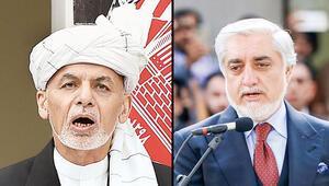 Afganistan'da 2 tören 2 'başkan'
