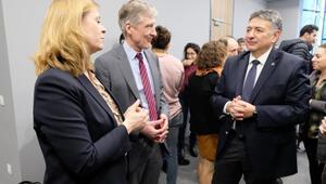 CERN yönetimi Boğaziçi Üniversitesini ziyaret etti