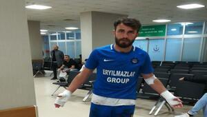 Tepecikspor - Payasspor maçı sonrası futbolculara bıçaklı saldırı