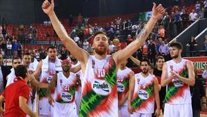 Pınar Karşıyaka, FIBA Avrupa Kupasında yarı final için sahada