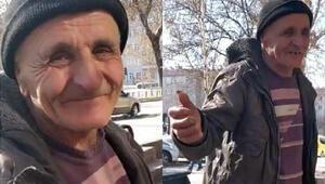 Dilenmek için Erzincandan Erzuruma geldi