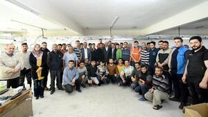 Konya Büyükşehir Belediye Başkanı Altay, Aykent esnafını ziyaret etti