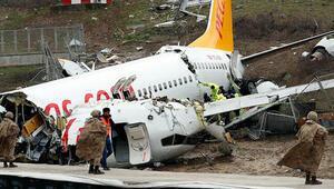 Sabiha Gökçen Havalimanındaki uçak kazasına ilişkin ön rapor hazırlandı