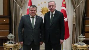 Yargıtay ve Danıştay Başkanlarından Erdoğana veda ziyareti