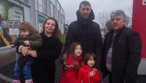 Türk ailenin hukuk zaferi... 4 ay sonra çocuklarına kavuştular
