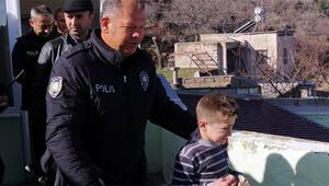 Kayseride kaybolan çocuk 10 saat sonra bulundu