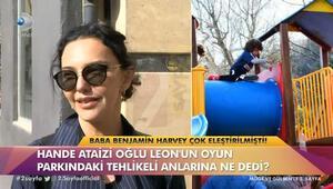 Hande Ataizi kazadan sonra ilk kez konuştu