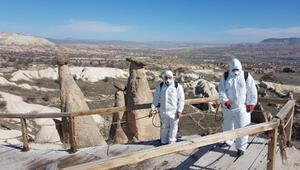 Kapadokyada virüs temizliği