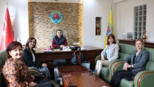 Kadın girişimcilerden Toptaşa ziyaret