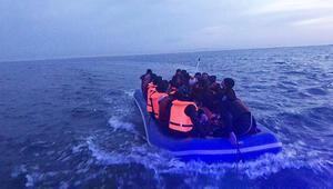 Sahil Güvenlik, Enezde denize açılan 47 göçmeni durdurdu
