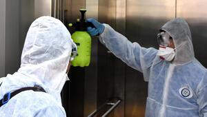 Muğlada corona virüse karşı dezenfektasyon uygulaması