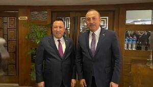 Beyoğlu, Bakan Çavuşoğlu ile görüştü