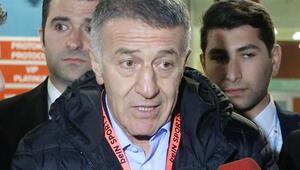 Trabzonspor Başkanı Ahmet Ağaoğluna çirkin saldırı