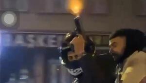 Dehşetin görüntüsü İstanbulda çekildi Polis peşine düştü
