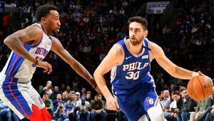 NBAde gecenin sonuçları | Philadelphia, Detroiti yendi Furkandan 17 sayı...