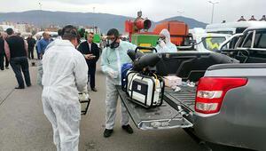 Osmaniye'de, toplu taşıma ve okul servis araçları dezenfekte edildi