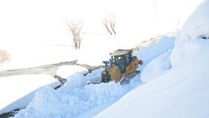 Şırnakta kardan yolları ulaşıma kapanan iki aileye ulaşıldı