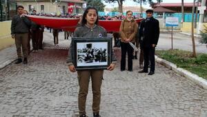 Atatürkün Dinara gelişi kutlandı