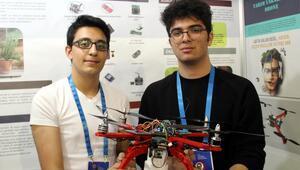 Liselilerden 'tarım dostu' drone