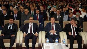 Dinarda İstiklal Marşının kabulü töreni