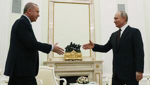Son dakika haberler: Cumhurbaşkanı Erdoğan, Putin ile görüştü