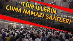 Cuma namazı saat kaçta kılınacak Diyanet 13 Mart il il cuma namazı vakitlerini duyurdu