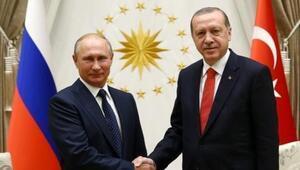 Cumhurbaşkanı Erdoğan ve Putin arasında kritik görüşme