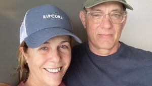 Corona virüse yakalandığını açıklayan Tom Hanks ve eşinden ilk fotoğraf