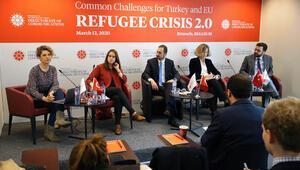 Brüksel'de sığınmacı krizi paneli