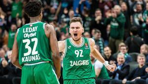 Son Dakika | Litvanyada şampiyon Zalgiris