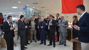 Dinarda Kitap Fuarı açıldı