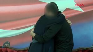 Suriyede terör örgütünden kaçan H.D. İstanbulda ailesiyle buluştu