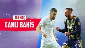Fenerbahçe 6 eksikle Konyada iddaada galibiyetlerine verilen oran...