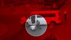 İstanbulda öldüren yumruk kamerada
