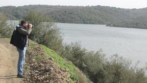 Alibeyköy Barajında denetim yapıldı