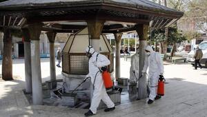 Büyükşehirin koronavirüs seferberliği sürüyor
