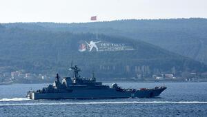 Rus savaş gemisi Caesar Kunikov, Çanakkale Boğazından geçti