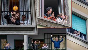 Son dakika haberleri: İnanılmaz kareler Karantinadaki İtalyanlardan son görüntüler