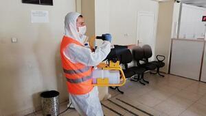 Kırıkhanda koronavirüs dezenfekte çalışmaları