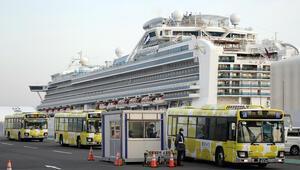 Japonyadaki karantina gemisinin yolcusundan kötü haber