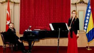 Saraybosnada konser verdi