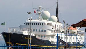 Alanyada sezonun ilk kruvaziyer gemisi