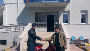 Eskişehirde, motosiklet hırsızları yakalandı