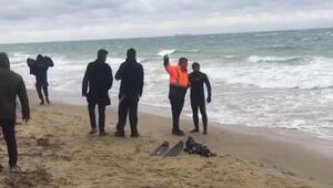 Bozcaadada teknesiyle denize açılan kişinin cansız bedenine ulaşıldı