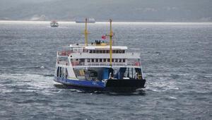 Gökçeada ile Güney Marmara hattında feribot seferleri iptal