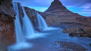 İzlandanın en çok fotoğraflanan dağı: Kirkjufell