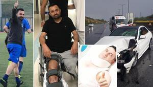 160 km hızla çarpmıştı Hem bacağını kaybetti hem kusurlu sayıldı