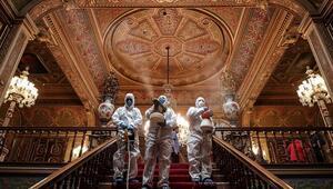 Beylerbeyi Sarayı dezenfekte edildi