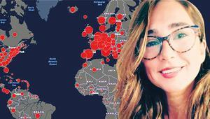 Korona haritasına Türk imzası